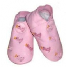 CeLaVi slippers, Rose with duck embroidery Size 19/20