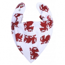 DryBib Bandana Bib – Welsh Dragons
